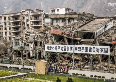 Earthquake in Sichuan China 2008