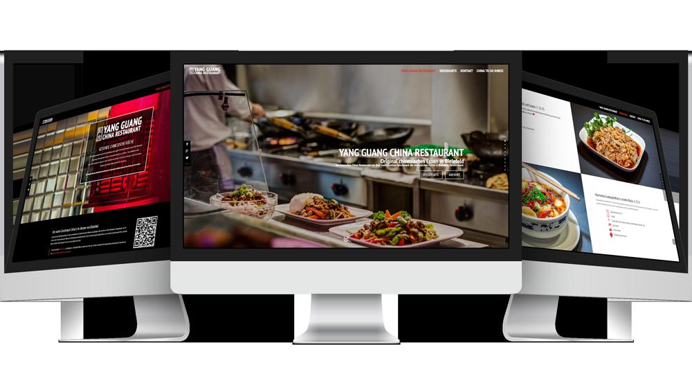 bielefeld web design restaurant webdesign china