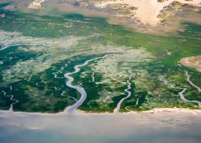 Insel Baltrum Nordsee Küste Deutschland Ultraleicht Rundflug