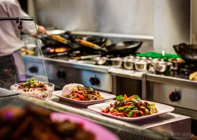 Traditionell Chinesisches Essen in Bielefeld beim Yang Guang Chi