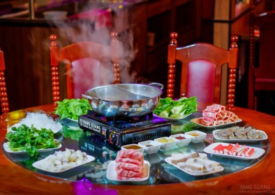 Hot Pot Feuertopf Suppe -  chinesisch essen in Bielefeld China Restaurant Yang Guang-4