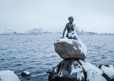 The little Mermaid in Kopenhagen