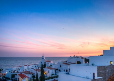 Algarve Sunset Town