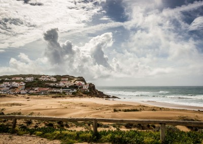 village portugal algarve atlantic beach dunes sand