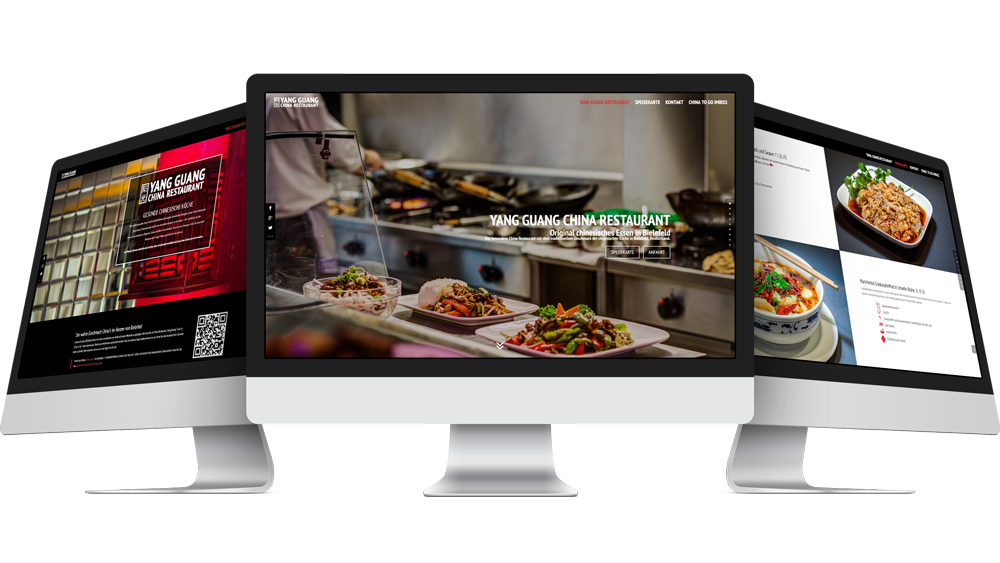 bielefeld web design restaurant webdesign china