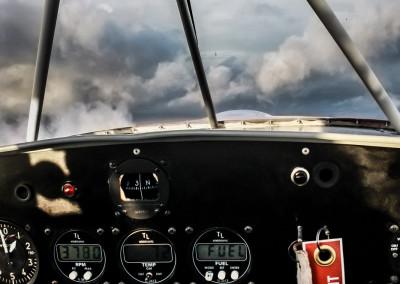 Ultraleicht Flug Cockpit Bielefeld Deutschtland