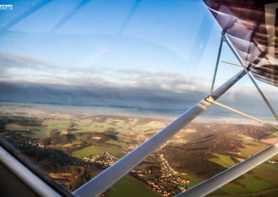 Fliegen über Ostwestfalen Lippe und Bielefeld