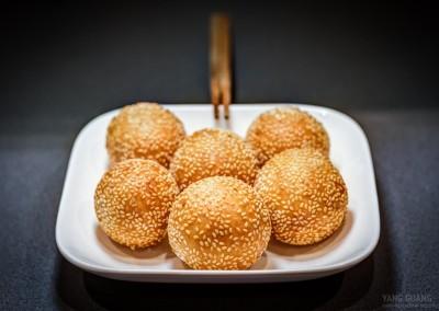 Süße Sesambällchen aus Klebreismehl