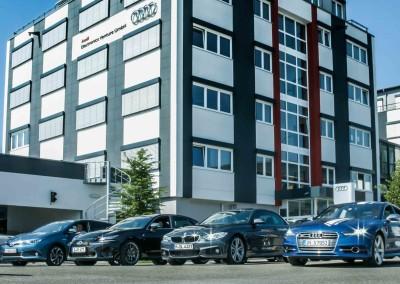Film Produktion Ingolstadt Audi Telekom BMW Lexus Toyota Huawei