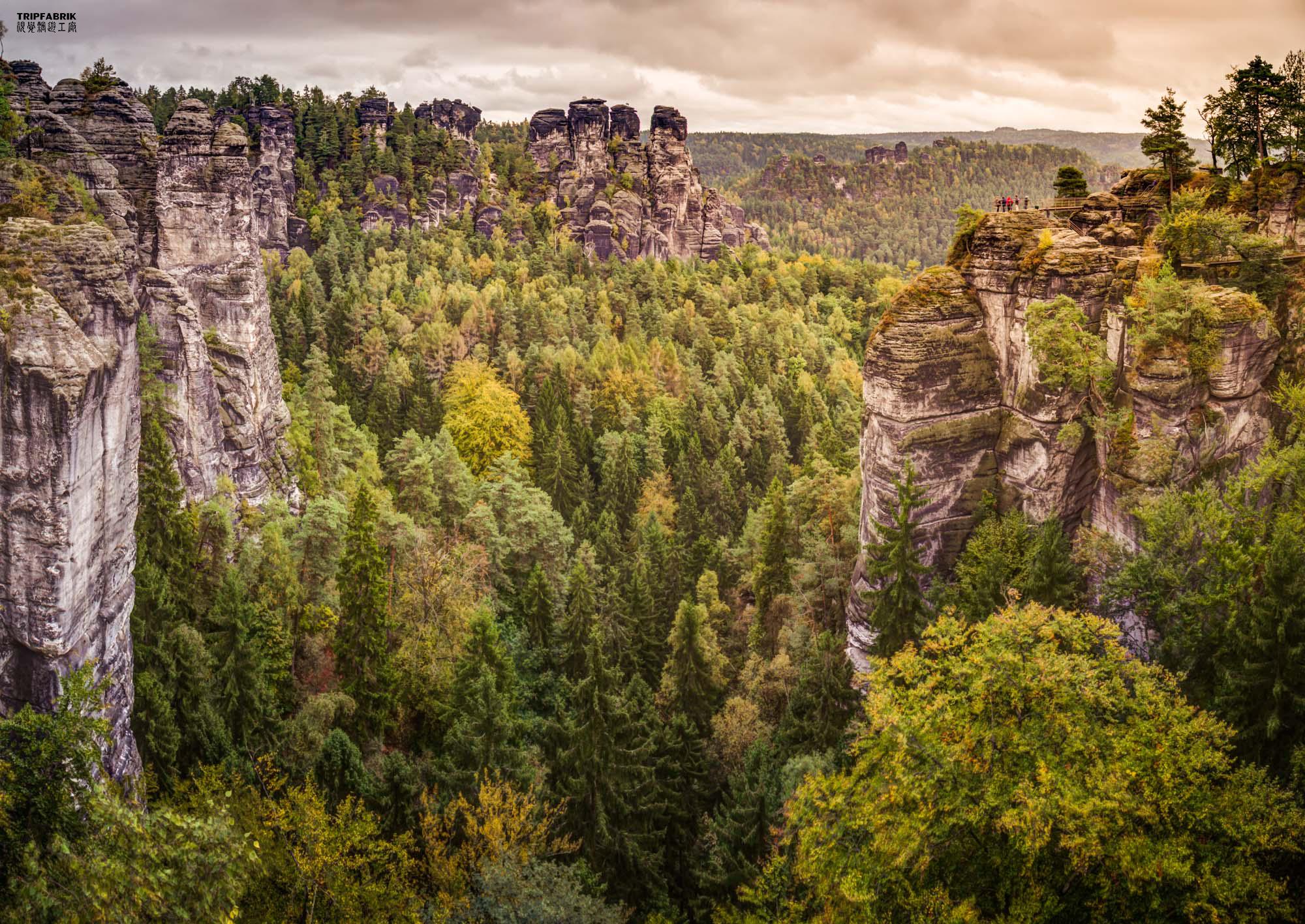 Bastei Sächsische Schweiz Nationalpark Deutschland