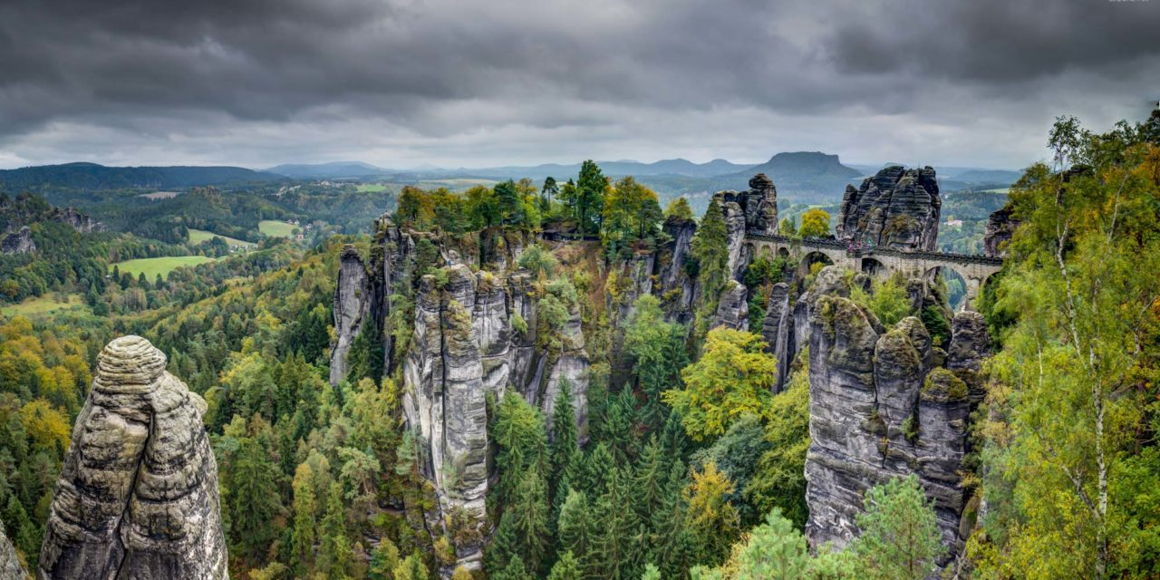 Bastei Sächsische Schweiz Germany